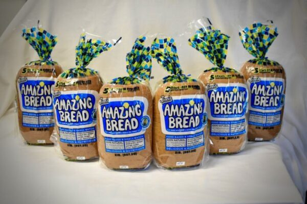 12 Pack of Jim's Whole-Cell Wheat Bread